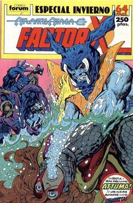 Factor-X Vol. 1 Especiales (1988-1995) (Grapa 64 pp) #4