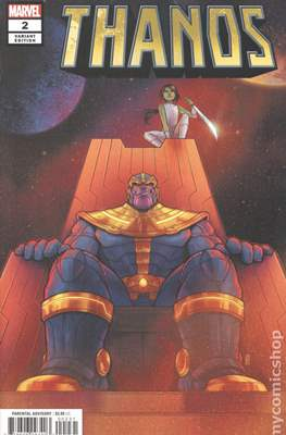 Thanos (2019 Variant Cover) (Comic Book) #2