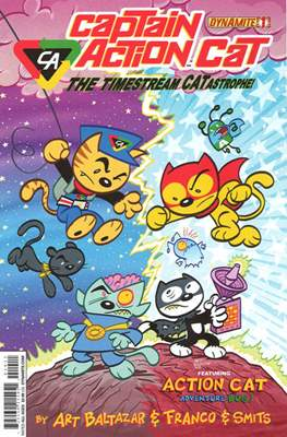 Captain Action Cat: The Timestream Catastrophe!