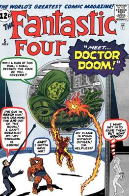 Fantastic Four Vol. 1 (1961-1996) #5