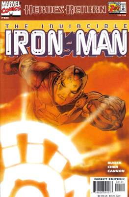 Iron Man Vol. 3 (1998-2004 - Variant Cover)