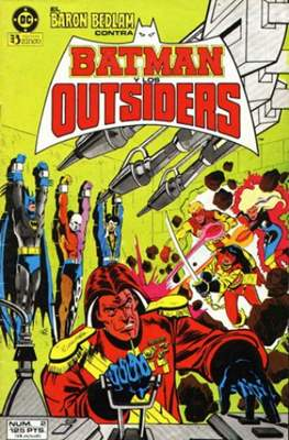 Batman y los Outsiders / Los Outsiders #2