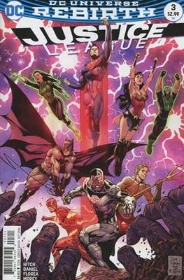 Justice League Vol. 3 (2016-2018) (Comic-book) #3