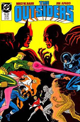 The Outsiders (1985-1988) (Comic Book) #22
