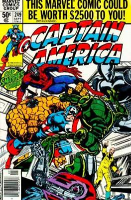 Captain America Vol. 1 (1968-1996) (Comic Book) #249