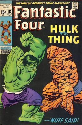 Fantastic Four Vol. 1 (1961-1996) (saddle-stitched) #112