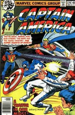 Captain America Vol. 1 (1968-1996) (Comic Book) #229