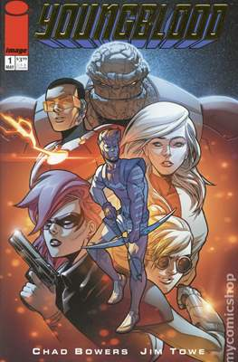 Youngblood (2017) Variant Covers