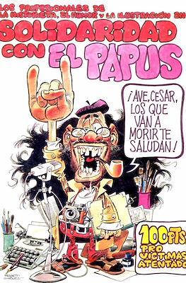 Los profesionales de la historieta, el humor y la ilustración en solidaridad con el Papus