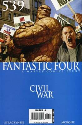 Fantastic Four Vol. 3 (Comic Book) #539