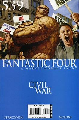Fantastic Four Vol. 3 (1998-2012) (Comic Book) #539