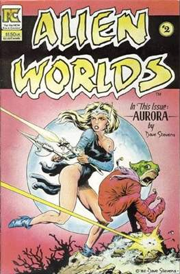 Alien Worlds (Comic-Book) #2