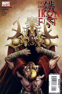 The Immortal Iron Fist (2007-2009) (Grapa) #25