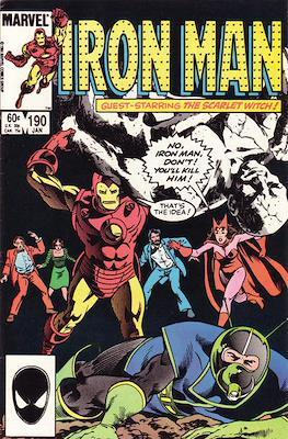 Iron Man Vol. 1 (1968-1996) (Comic book) #190