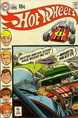 Hot Wheels (Comic Book) #1