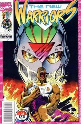 The New Warriors vol. 1 (1991-1995) (Grapa. 17x26. 24 páginas. Color. (1991-1995).) #35