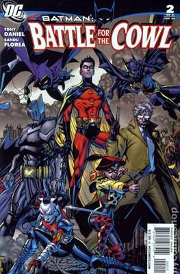 Batman Battle for the Cowl (2009) (Comic Book) #2