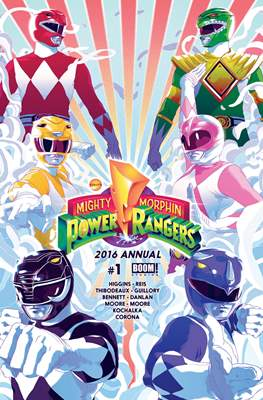Mighty Morphin Power Rangers Annual (2016-)