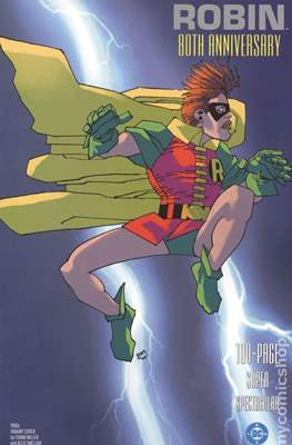 Robin 80th Anniversary (Variant Cover) (Softcover 100 pp) #1.4