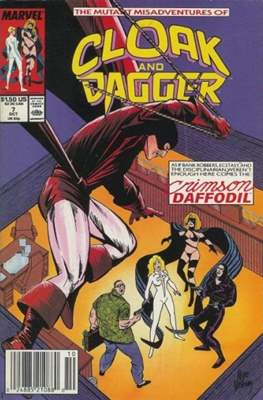 Cloak and Dagger Vol. 3 (1988-1991) (Comic-book.) #7