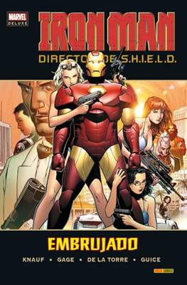 Iron Man. Director de S.H.I.E.L.D. - Marvel Deluxe (Cartoné) #2