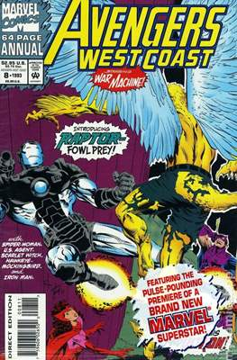 Avengers West Coast Annual (1986-1993) (Comic-Book) #8