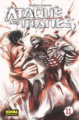 Ataque a los Titanes (Rústica con sobrecubierta) #11