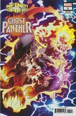 Infinity Warps: Ghost Panther (Variant Cover)
