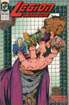 Legion of Super-Heroes Vol. 4 (1989-2000) #6
