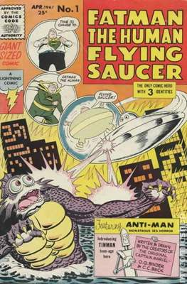 Fatman The Human Flying Saucer