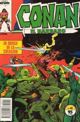 Conan el Bárbaro (1983-1994) (Grapa. 19x27. 36/32/24 páginas. Color.) #41