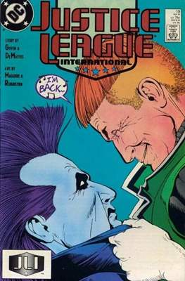 Justice League / Justice League International / Justice League America (1987-1996) (Comic-Book) #19