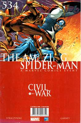 The Amazing Spider-Man (Grapas) #534