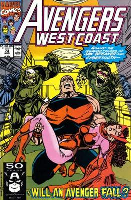 West Coast Avengers Vol. 2 (Comic-book. 1985 -1989) #73