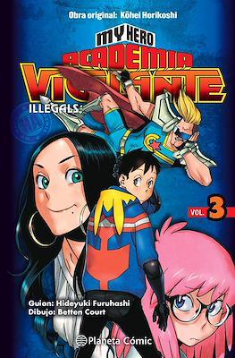 My Hero Academia: Vigilante Illegals (Rústica con sobrecubierta) #3