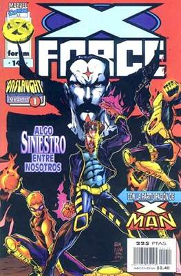 X-Force Vol. 2 (1996-2000) (Grapa 24 pp) #14