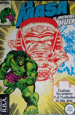 La Masa. El Increíble Hulk (Retapado 1ª Etapa. 180 páginas) #5