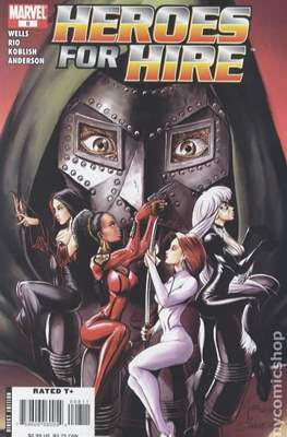 Heroes for Hire Vol. 2 (2006-2007) #8