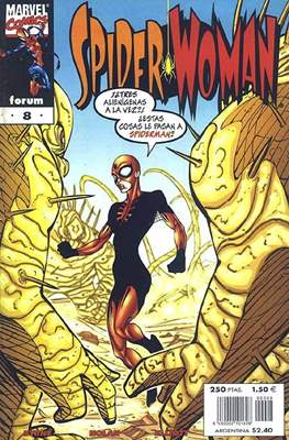 Spider-Woman (2000-2001) (Grapa. 17x26. 24 páginas. Color.) #8