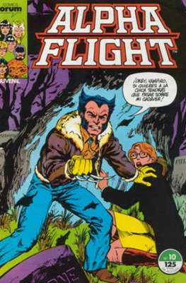 Alpha Flight Vol. 1 / Marvel Two-in-one: Alpha Flight & La Masa Vol.1 (1985-1992) #10