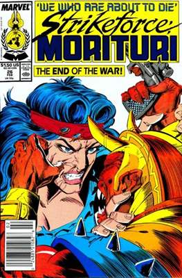 Strikeforce Morituri (Comic-book.) #26