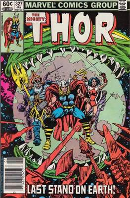 Journey into Mystery / Thor Vol 1 (Comic Book) #327