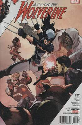 All-New Wolverine (2016-) (Comic book) #22