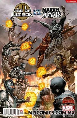 Age of Ultron Vs. Marvel Zombies (Portadas Variantes)