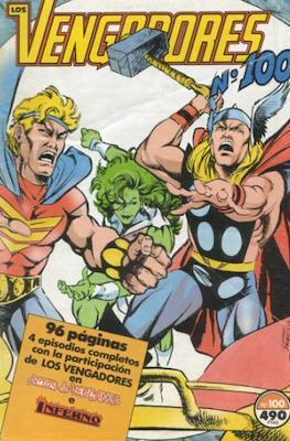 Los Vengadores Vol. 1 (1983-1994) (Grapa) #100