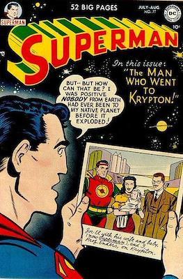 Superman Vol. 1 / Adventures of Superman Vol. 1 (1939-2011) (Comic Book) #77