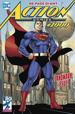 Action Comics Vol. 1 (1938-2011; 2016-) (Comic Book) #1000