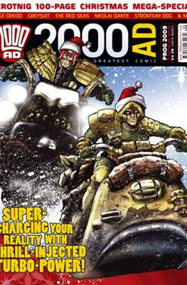 2000 AD Christmas Special. #2008