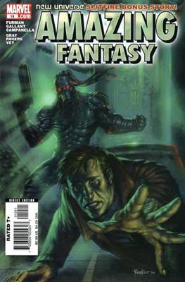 Amazing Fantasy Vol 2 (2004-2005) (Serie Regular, grapa, 48 páginas) #19