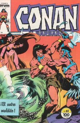 Conan el Bárbaro (1983-1994) #61